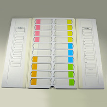 Slide Mailer, Cardboard, for 20 Slides, 10/CS