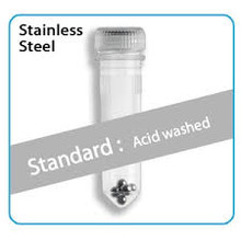Stainless Steel (Acid-Washed) homogenizer beads, Ø:2.8mm, 50/PK