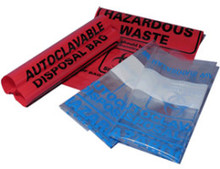 Red autoclave bag 8.5 x 11 inch (22.6 x 28 cm), case of 100