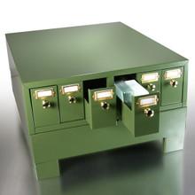 Slide Storage Cabinet , holds 4500 slides, 1/EA