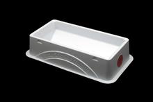 """5mL """"Shorti"""" reservoir, white polystyrene, non-sterile, 10/Bg, 50/PK"""