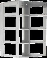 Laboratory Chest Freezer Rack CF-4-2