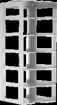 Lab Freezer Rack CF-6-2 for Chest Freezers