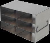 UFHT-23 freezer rack for six 100 place plastic freezer boxes