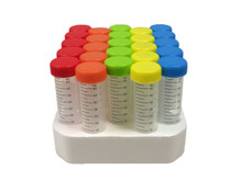 iTubes™ 50mL Conical Tubes, Rnase/DNase Free,  STERILE Foam Racked, 500/CS