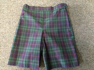 Girls Skort Plaid