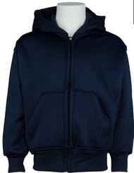 Unisex Full Zip Hooded Sweatshirt
