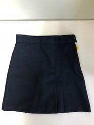 Girls Skort Navy with spandex shorts