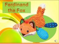 Ferdinand the Fox Listen+Learn Plush Toy