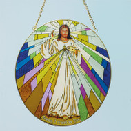 """Divine Mercy"" Suncatcher"
