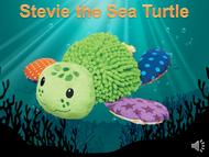 Stevie the Sea Turtle Listen+Learn Plush Toy