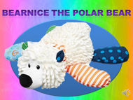 Bearnice the Polar Bear Listen+Learn Plush Toy