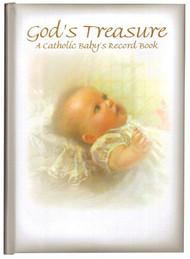 God's Treasure: A Catholic Baby's Record Book