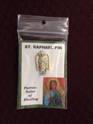 St. Raphael Pin