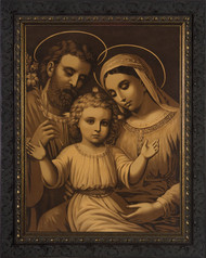HOLY FAMILY (ANTIQUE)