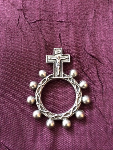 Mother Angelica Ring Rosary
