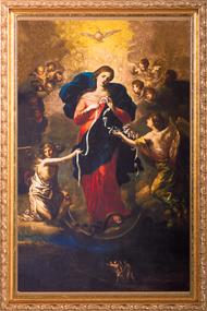 MARY UNDOER OF KNOTS FRAMED ART