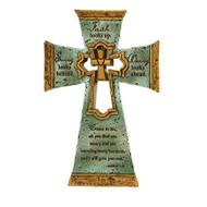 """""""Faith Looks Up"""" Cross"""