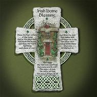 Irish Home Blessing Wall Cross