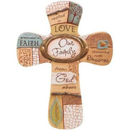 """""""Our Family"""" Cross"""
