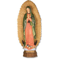 "Our Lady Guadalupe with Sunburst 56"" H"