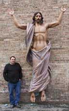 Risen Christ 10' H