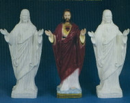 BLESSING SACRED HEART OF JESUS OUTDOOR STATUE 24""