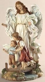 Classic Guardian Angel Figure