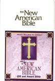 Gift and Award Bible-NAB (white)