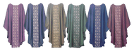 Brocade Chasuble (available in 6 colors)