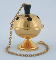 Censer (pictured with 24k Gold Plated Brass Finish) K407