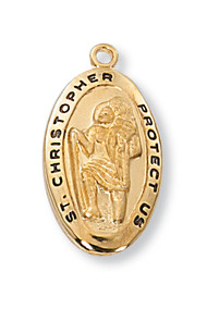 ST. CHRISTOPHER MEDAL J388