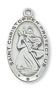 ST. CHRISTOPHER MEDAL L550CH