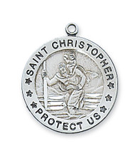 ST. CHRISTOPHER MEDAL L312CH