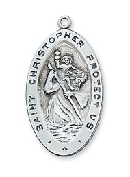 ST. CHRISTOPHER MEDAL L315CH