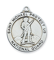 ST. MICHAEL NATIONAL GUARD MEDAL L650NG