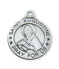 ST. AUGUSTINE MEDAL L600AU