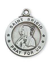 ST. BRIGID MEDAL L600BDG