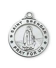 ST. BRENDAN MEDAL L600BR