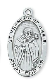 ST. FRANCIS MEDAL L550FR