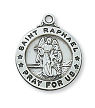 ST. RAPHAEL MEDAL L600RH