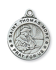 ST. THOMAS MORE MEDAL L600TM