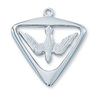 HOLY SPIRIT MEDAL L396