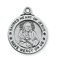 SACRED HEART OF JESUS MEDAL L600SC