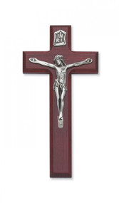 """7"""" CHERRY STAINED CRUCIFIX 79-63"""