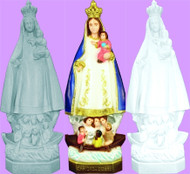 OUR LADY OF CHARITY OUTDOOR STATUE 24""