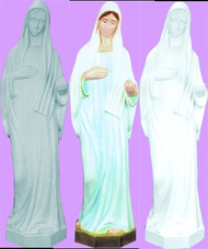 """QUEEN OF PEACE - LADY OF MEDJUGORIE OUTDOOR STATUE 24"""""""