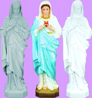 IMMACULATE HEART OF MARY OUTDOOR STATUE 36""