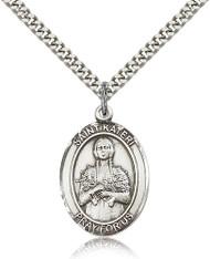 St. Kateri Sterling Silver Medal 7061-bliss