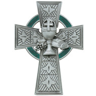 Pewter Celtic Communion Cross - mcvan